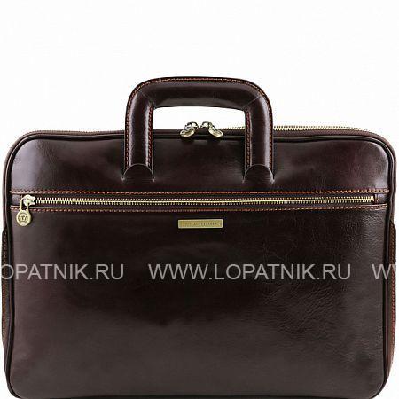 Купить Кожаный портфель для документов TUSCANY TL141324-02, Коричневый, Натуральная кожа