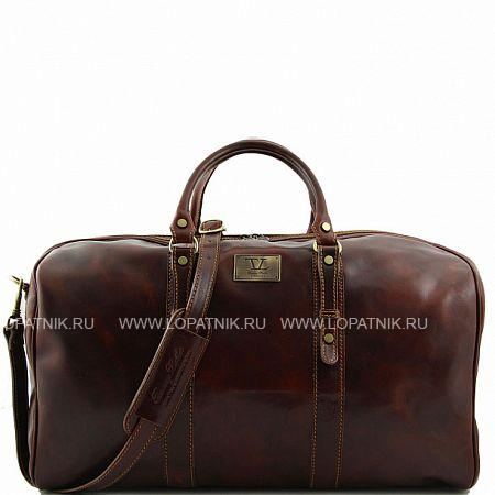 Дорожная кожаная сумка TUSCANY FC140860-2, Коричневый, Натуральная кожа  - купить со скидкой