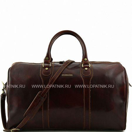 Дорожная кожаная сумка-даффл TUSCANY TL1044-2, Коричневый, Натуральная кожа  - купить со скидкой