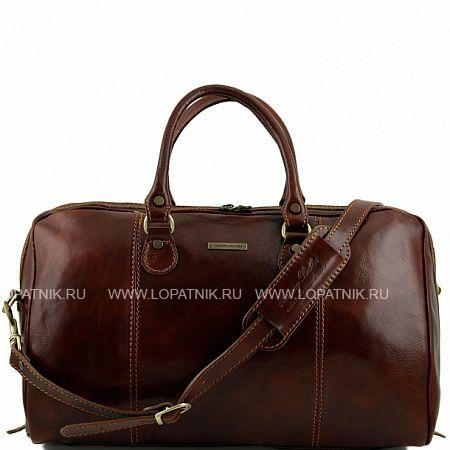 Купить Дорожная кожаная сумка-даффл TUSCANY TL1045-2, Коричневый, Натуральная кожа
