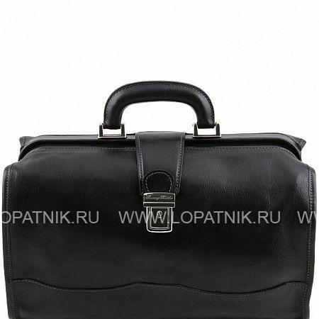 Купить Кожаный саквояж TUSCANY TL10077-1, Черный, Натуральная кожа