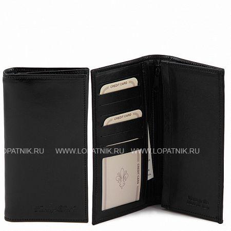 Портмоне кожаное мужское TUSCANY TL140777-1, Черный, Натуральная кожа  - купить со скидкой