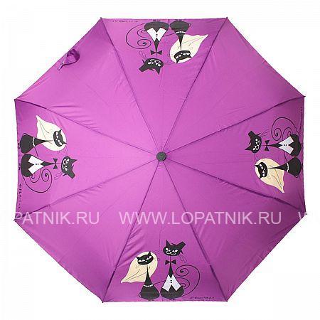 Купить Зонт складной женский FLIORAJ 160404 FJ, Фиолетовый