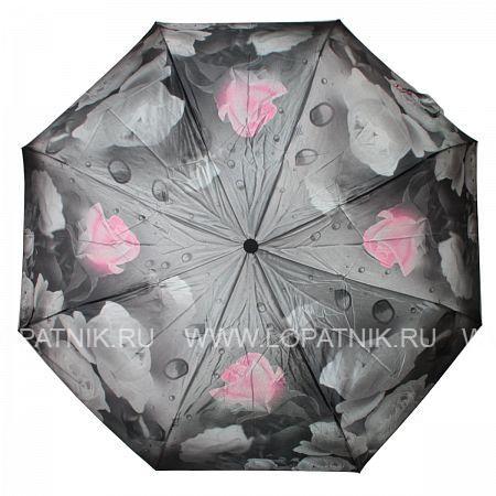 Купить Зонт женский автомат FLIORAJ 190215 FJ, Розовый, Черный, Серый