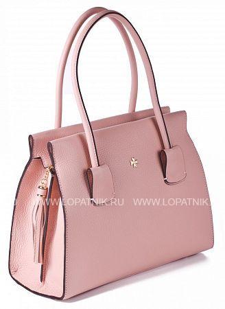 Купить Женская кожаная сумка VASHERON 9992-N.POLO POWDER, Розовый, Натуральная кожа