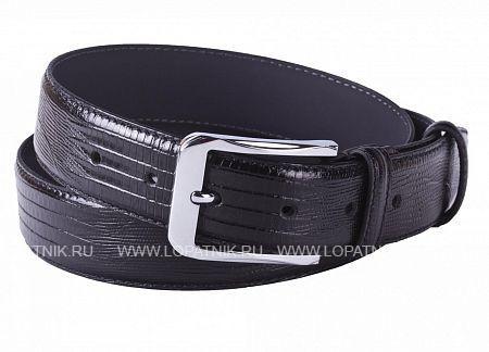 Купить Ремень мужской кожаный VASHERON 31078-SNAKE LAZER BLACK, Черный, Натуральная кожа