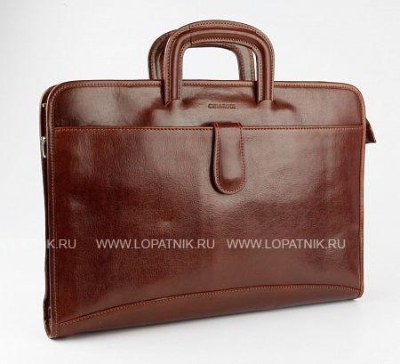 Купить Кожаная сумка для документов CHIARUGI 2320 MARR, Коричневый, Натуральная кожа
