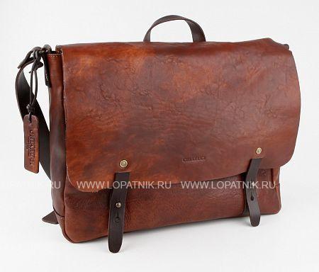 Купить Сумка на плечевом ремне CHIARUGI 54002 MARR, Коричневый, Натуральная кожа