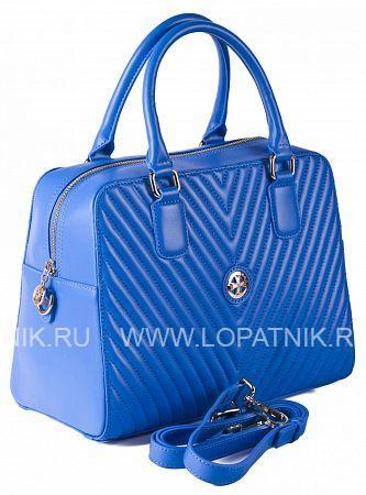Купить Сумка кожаная женская VASHERON 9968-N.ARMANI BRIGHT BLUE, Голубой, Натуральная кожа