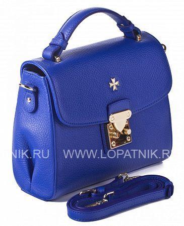 Купить Женская кожаная сумка-клатч VASHERON 9933-N.POLO ULTRA BLUE, Синий, Натуральная кожа
