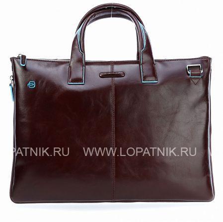 Купить Сумка для ноутбука кожаная мужская PIQUADRO CA4021B2/MO, Коричневый, Натуральная кожа