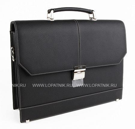 Купить Мужской кожаный портфель PETEK 791.234.KD1, Черный, Натуральная кожа