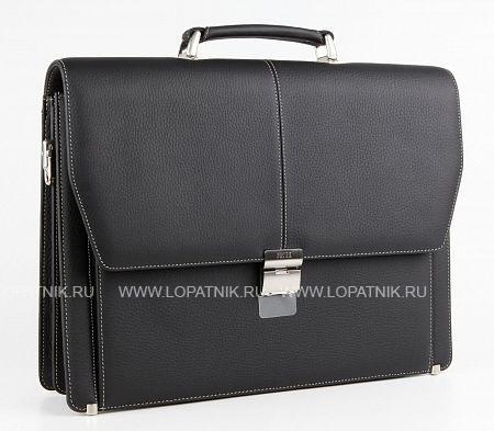 Купить Портфель со съемным плечевым ремнем PETEK 799.234.KD1, Черный, Натуральная кожа