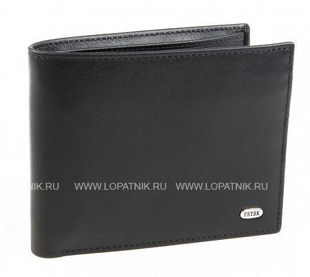 Купить Мужское кожаное портмоне PETEK 2170.000.01, Черный, Натуральная кожа