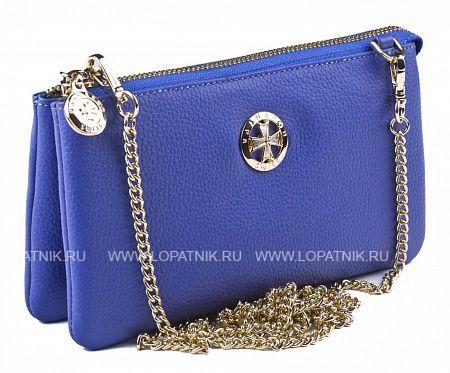 Кожаный кошелек-сумочка VASHERON 9240-N.POLO SAPPHIRE
