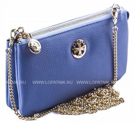 Кожаный кошелек-сумочка VASHERON 9240-N.POLO ROYAL BLUE