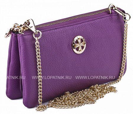 Кожаный кошелек-сумочка VASHERON 9240-N.POLO PURPLE
