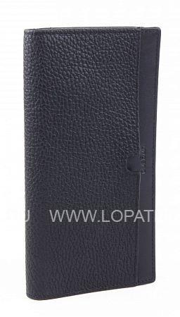Купить Портмоне кожаное мужское UNGARO PU00180M, Черный, Натуральная кожа