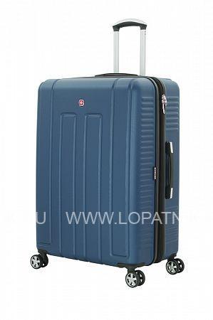 Купить Чемодан VAUD синий WENGER WGR6399343177, Пластик