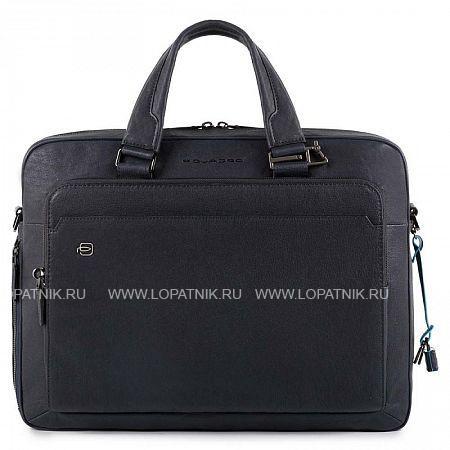 Мужская сумка со съемным плечевым ремнеи PIQUADRO CA4027B3/BLU