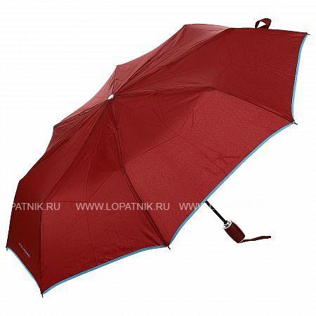 Купить Зонт женский автомат PIQUADRO OM3607OM1/R, Красный, Полиэстер (тканевый)