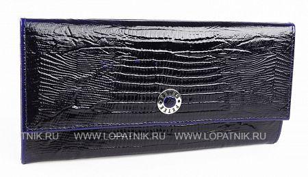 Купить Женский кожаный кошелек PETEK 301.41V+M52.F60, Синий, Натуральная кожа