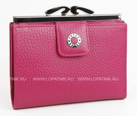 Купить Женский кожаный кошелек PETEK 306.46D.44, Розовый, Натуральная кожа
