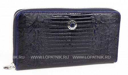 Купить Портмоне кожаное женское PETEK 397/2.41V+M52.F60, Синий, Натуральная кожа