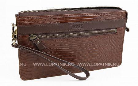 Купить Визитка мужская кожаная PETEK 701.041.02, Коричневый, Натуральная кожа