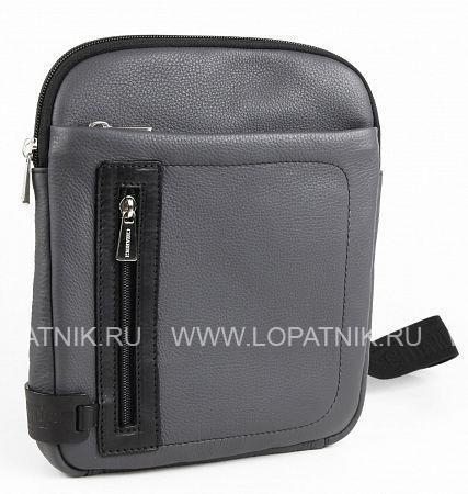 Купить Мужская сумка на плечевом ремне CHIARUGI 72656 VARIE, Синий, Натуральная кожа