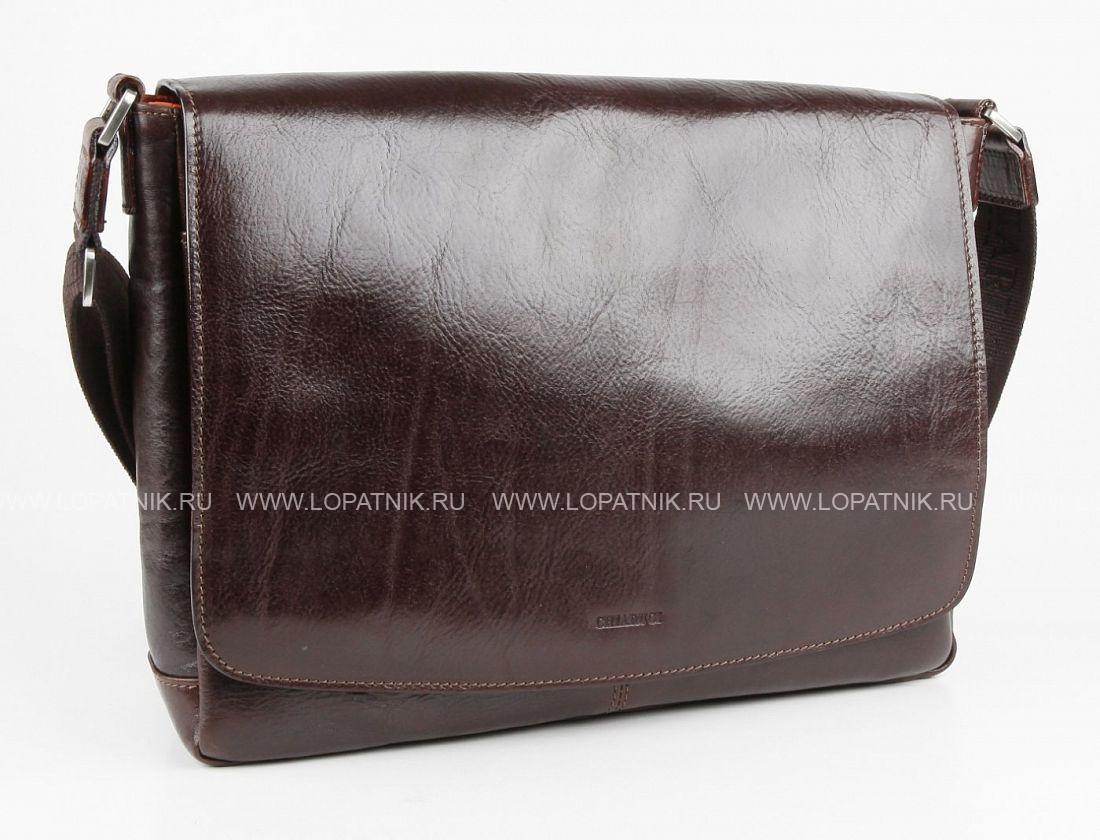 788687eca529 Мужская сумка на плечевом ремне Chiarugi 93512 moro, Коричневый цена ...