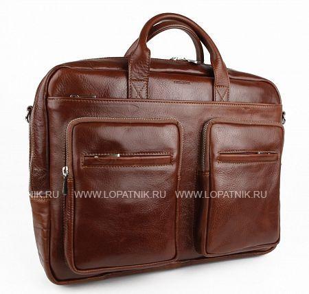 Купить Сумка для документов и ноутбука CHIARUGI 94631 MORO, Коричневый, Натуральная кожа