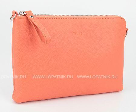 Купить Женская кожаная сумка розовая VELES W15723.199.131, Розовый, Натуральная кожа
