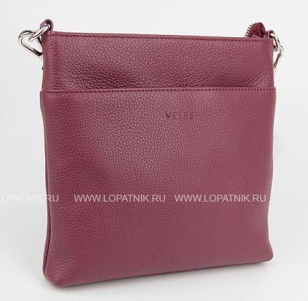 Купить Женская кожаная сумка бордовая VELES S16726.199.03, Бордовый, Натуральная кожа