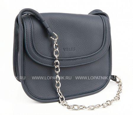 Женская кожаная сумка синяя VELES S15716.199.08