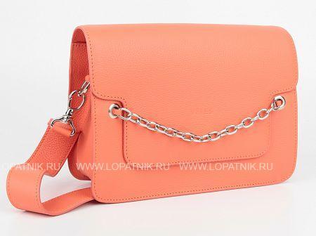 Купить Женская кожаная сумка оранжевая VELES S15712.199.131, Оранжевый, Натуральная кожа