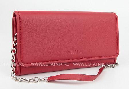 Купить Женская кожаная сумка красная VELES S15711.199.10, Красный, Натуральная кожа