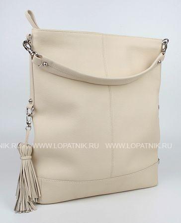 Купить Женская кожаная сумка бежевая VELES S15705.199.84, Бежевый, Натуральная кожа