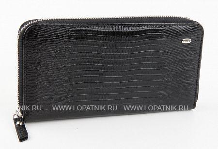 Купить Женское кожаное портмоне PETEK 397/3.041.01, Черный, Натуральная кожа