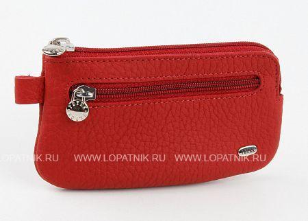 Купить Женская кожаная ключница PETEK 535.234.10, Красный, Натуральная кожа