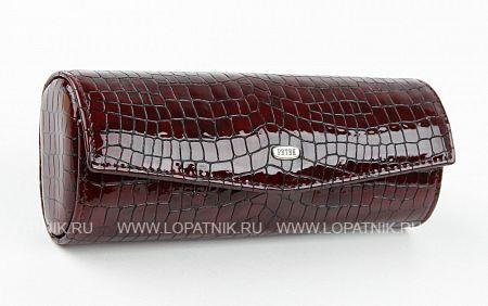 Купить Кожаный футляр для очков PETEK 694S.091.03, Бордовый, Натуральная кожа