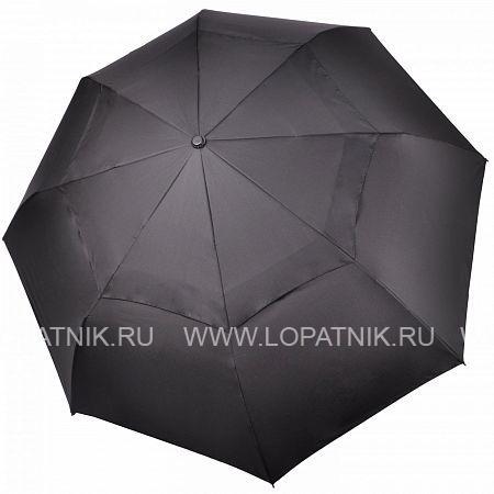 Купить Зонт мужской складной ТРИ СЛОНА 580-VT, Три слона, Черный