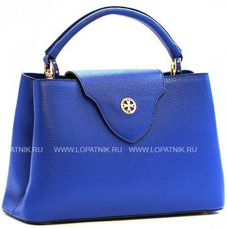 Купить Женская кожаная сумка-клатч VASHERON 9991-N.POLO ULTRA BLUE, Синий, Натуральная кожа