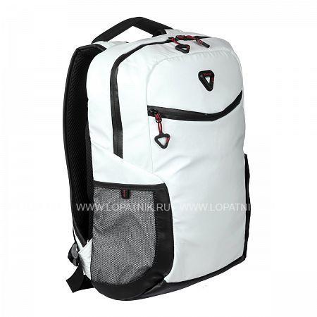 Купить Рюкзак-органайзер кожаный VERAGE GM16086-13A 17 WHITE, Белый, Черный, Полиэстер (тканевый)