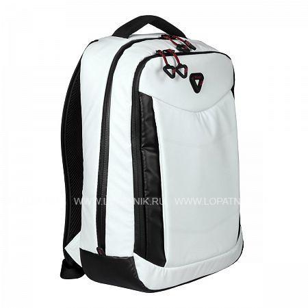 Купить Рюкзак-органайзер кожаный VERAGE GM16086-13B 17 WHITE, Белый, Черный, Полиэстер (тканевый)