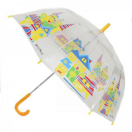 Купить Зонт детский FLIORAJ 051208 FJ, Белый, Разноцветный, Полиэстер (тканевый)