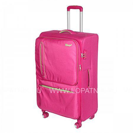 Купить Чемодан на колесах тканевый VERAGE GM16014W28 ROSE RED, Розовый, Полиэстер (тканевый)