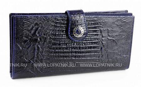 Купить Портмоне кожаное женское PETEK 441.41V+M52.F60, Синий, Натуральная кожа