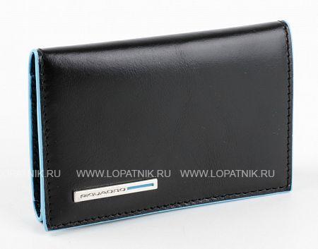 Купить Ключница PIQUADRO PC1396B2/N, Черный, Натуральная кожа