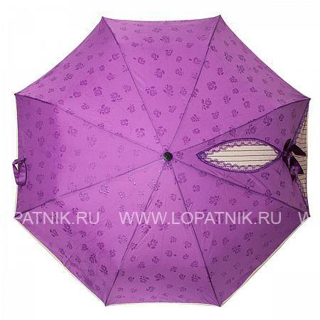 Купить Зонт автомат женский FLIORAJ 20004 FJ, Фиолетовый, Полиэстер (тканевый)
